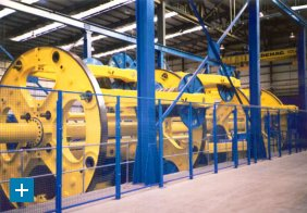 Planetary strander for umbilicals